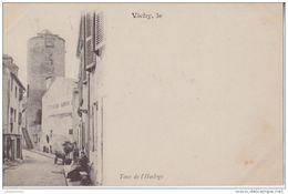 03 VICHY TOUR DE L'HORLOGE ANIMÉE CPA BON ÉTAT - Vichy