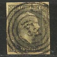Preussen. König Friedrich Wilhelm IV., Nr. 4 B Stempel 1534 - Prussia