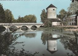 MERREY SUR ARCE - LA SEINE AU PONT DE VILLENEUVE - BELLE CARTE PHOTO - COULEUR -  TOP !!! - France