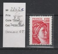 LOT 437 FRANCE  N°2102c  ** - France