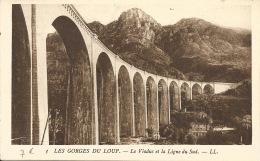 06  LES GORGES DU LOUP  LE VIADUC - France