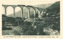 06  LES GORGES DU LOUP  -  LIGNE DU SUD / TRAIN - France