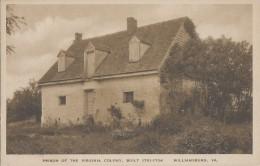 Etats-Unis - Williamsburg VA - Prison Of The Virginia Colony Built 1701-1704 - Etats-Unis