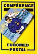 """Encart 1er Jourde 2009 """" CONFERENCE EUROMED POSTAL / POSTIER """" N° YT 4422. Voir Les 2 Scans. - Post"""