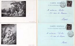 BOUCHER - 2 CPA -Le Nid - Sujet Pastoral - Incunables 1899  (99791) - Paintings