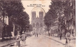 51 - Marne -  REIMS -  Rue Libergier - Reims