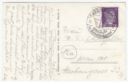Special Prerow (Darss) Postmark On Prerow Old Postcard Travelled 1944 B170915 - Lettres & Documents