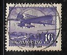 Hungary Transport Airplane 16 Filler Used Stamp # AR:227 - Hungary
