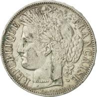 France, Cérès, 5 Francs, 1850, Strasbourg, TB+, Argent, KM:761.2, Gadoury:719 - France