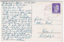 Special Görbersdorf (Sokołowsko) Pmk On Hirschberg Im Riesengebirge (Jelenia Góra) Old Postcard Travelled 1944 B170915 - Cartas