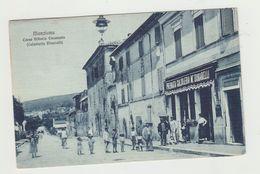 MANZIANA -CORSO VITTORIO EMANUELE - CALZOLERIA BINARELLI - VIAGGIATA 1916 - ANIMATA - POSTCARD - Roma