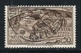 ITALIA - Regno 1932 - Dante Alighieri - Posta Aerea N.A 26 Usato - Singolo - Cat. 18,00 € - N. 1670 - Usati