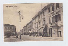 SORA (FROSINONE) - CORSO VOLSCI - VIAGGIATA 1936 - ITALY POSTCARD - Frosinone