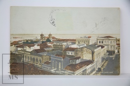 Old Real Photo Postcard Brazil, Para - Um Trecho Do Para - Ed. Oliveira Junior - Posted 1910 - Other