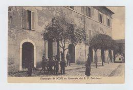SEGNI - EX CONVENTO DEI P.P. DOTTRINARI- VIAGGIATA 1910 ANIMATA - ITALY POSTCARD - Roma