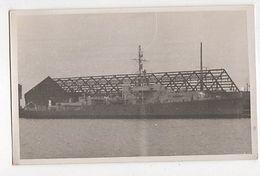 Warship F155 Plain Back Photo Card 026a - Guerre