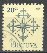 Lithuania 2000. Scott #651c (U) Forged Monument Tops - Lituanie