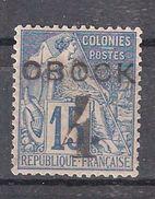 OBOCK, 1892, Type Alphée Dubois Surchargé 4 Sur 15 C Bleu Yvert N° 24, Neuf * / MH, TB Centrage  TTB - Unused Stamps