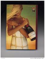 1 Carte Pub Champagne Moet & Chandon (belgique) - Advertising