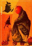 """Encart 1er Jour De 2004 """" HALLOWEEN  """" N° YT 3713. Voir Les 2 Scans. - Documents De La Poste"""