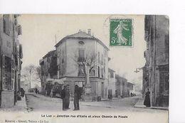 83 / LE LUC / JONCTION RUE D ITALIE ET VIEUX CHEMIN DE PIOULE - Le Luc
