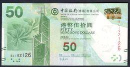 Hong Kong - 50 Dollars 2014 - Bank Of China - Hong Kong