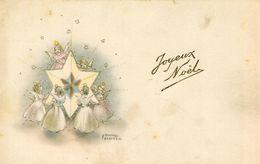 Joyeux Noël Fées Et Anges Autour De L'étoile Illustré Par Hannes Petersen - Petersen, Hannes