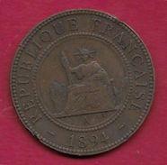 Indochine - 1 Centime - 1894 - Monnaies