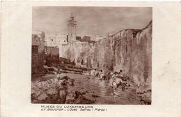 BOUCHOR J.F. - L' Oued Sefrou (Maroc)   (99797) - Paintings