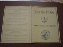 DECOUPAGE - JEU DE L'OIE  - REVOLUTION FRANCAISE - Non Classés