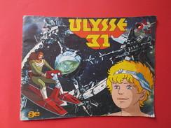 """Catalogue """" Ulysse 31 """" AGE - Dic - Tms - Paris 1981 - Vignettes - Complet - - Panini"""