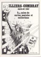 2° SALON DE LA CARTE POSTALE ILLERS COMBRAY - Bourses & Salons De Collections