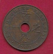 Indochine - 1 Centime - 1909 - Monnaies