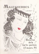MALESHERBES 2 ° BOURSE DE LA CARTE POSTALE - Collector Fairs & Bourses