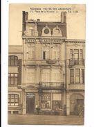 Verviers  ( M 3227 )  Hotel Des Ardennes ( J. Lamotte ) Et Clients Au Terrasse - Verviers