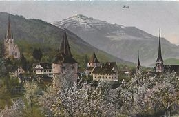 CARTE POSTALE ORIGINALE ANCIENNE :  ZUG  ZG ZOUG SUISSE - ZG Zug