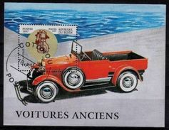 Benin 1997 Vintage Cars Transport Motoring Voitures Anciens Car Mortor Ford CTO S/S Stamp SG MS 1651 SC#993 - Benin - Dahomey (1960-...)