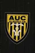 Autocollant    -    AUC   AIX UNIVERSITE CLUB - Autocollants