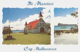 Ile Maurice        H19        ( 2 Vues ).Cap Malheureux ( Eglise , Mine ) - Mauritius