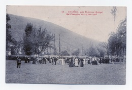 EYCHEIL 09 PRÈS DE SAINT GIRONS BAL CHAMPÈTRE DU 24 JUIN 1905 - Other Municipalities