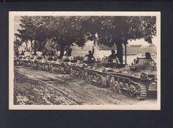 Dt. Reich AK Panzer Auf Fahrt Feldpost 1943 - Weltkrieg 1939-45