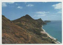 PORTO SANTO, Madeira - Aspeto Da Costa  (2 Scans) - Madeira