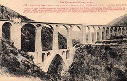Cpa Nouvelle Ligne électrique De La Vallée De La Têt LE GRAND PONT SEJOURNE (51.69) - Structures