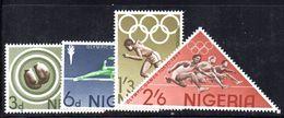 T334 - NIGERIA 1964 , Serie Yvert N. 161/164  ***  MNH - Nigeria (1961-...)