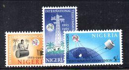 T332 - NIGERIA 1965 , Serie Yvert N. 174/176  ***  MNH - Nigeria (1961-...)