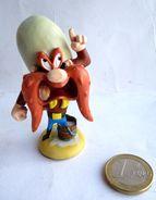 PETITE FIGURINE WARNER EN RESINE SAM LE PIRATE 1998 - Figurines
