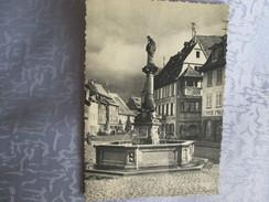 Obernai ; Fontaine St Odile - Obernai