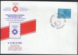 Yugoslavia Sarajevo 1984 / Olympic Games Sarajevo 1984 / Sarajevo Olympic City / Philatelic Exhibition - Hiver 1984: Sarajevo