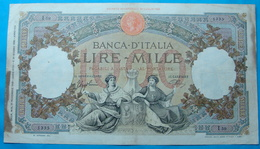 ITALIA 1000 LIRE 21/11/1939 - 1000 Lire