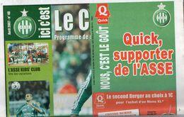 ICI C'est Le Chaudron  N°48 Du 7 Avril 2007  ASSE / Nantes - Uniformes Recordatorios & Misc